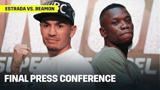 HIGHLIGHTS | Juan Francisco Estrada vs. Dewayne Beamon Final Press Conference