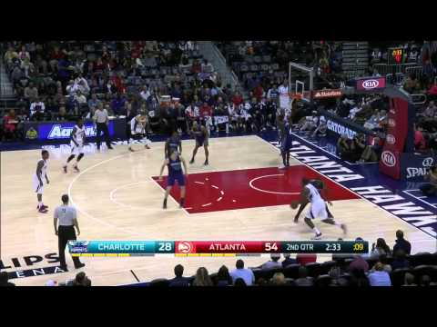 HD Charlotte Hornets vs Atlanta Hawks   Full Highlights   November 29, 2014   NBA Season 2014 15