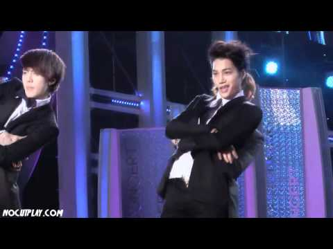 120512 EXO-K KAI -  Sorry Sorry @ Dream Concert [nocutplay]