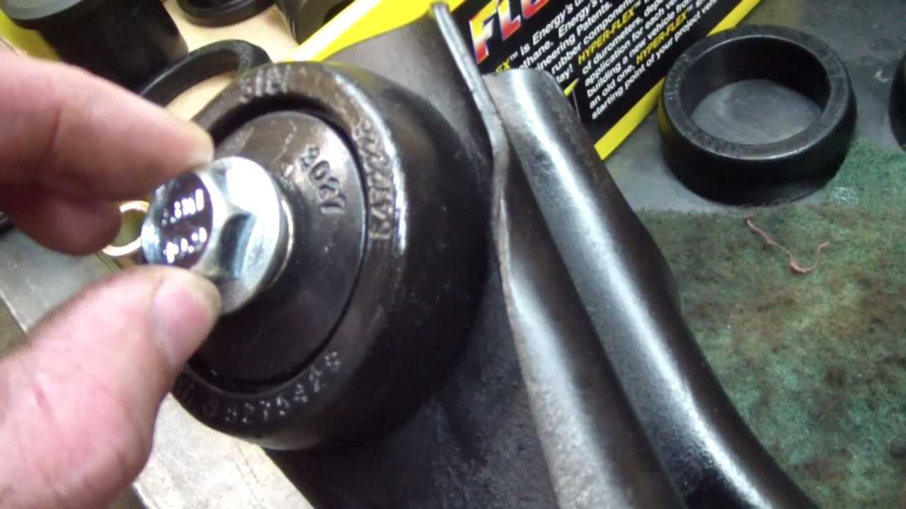 Mustang Rear Control Arm Bushing Replacement Youtube