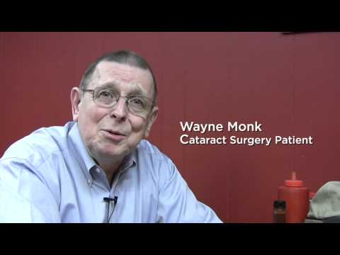 Wayne Monk - Cataract Patient At Davidson Eye Associates