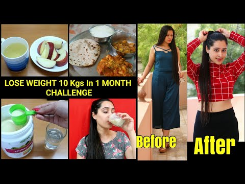 Weight Loss Diet Plan – LOSE 10 KGS IN 1 MONTH | Lose Belly Fat Completely
