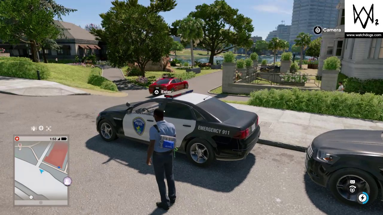 Watch Dogs  Police Cars