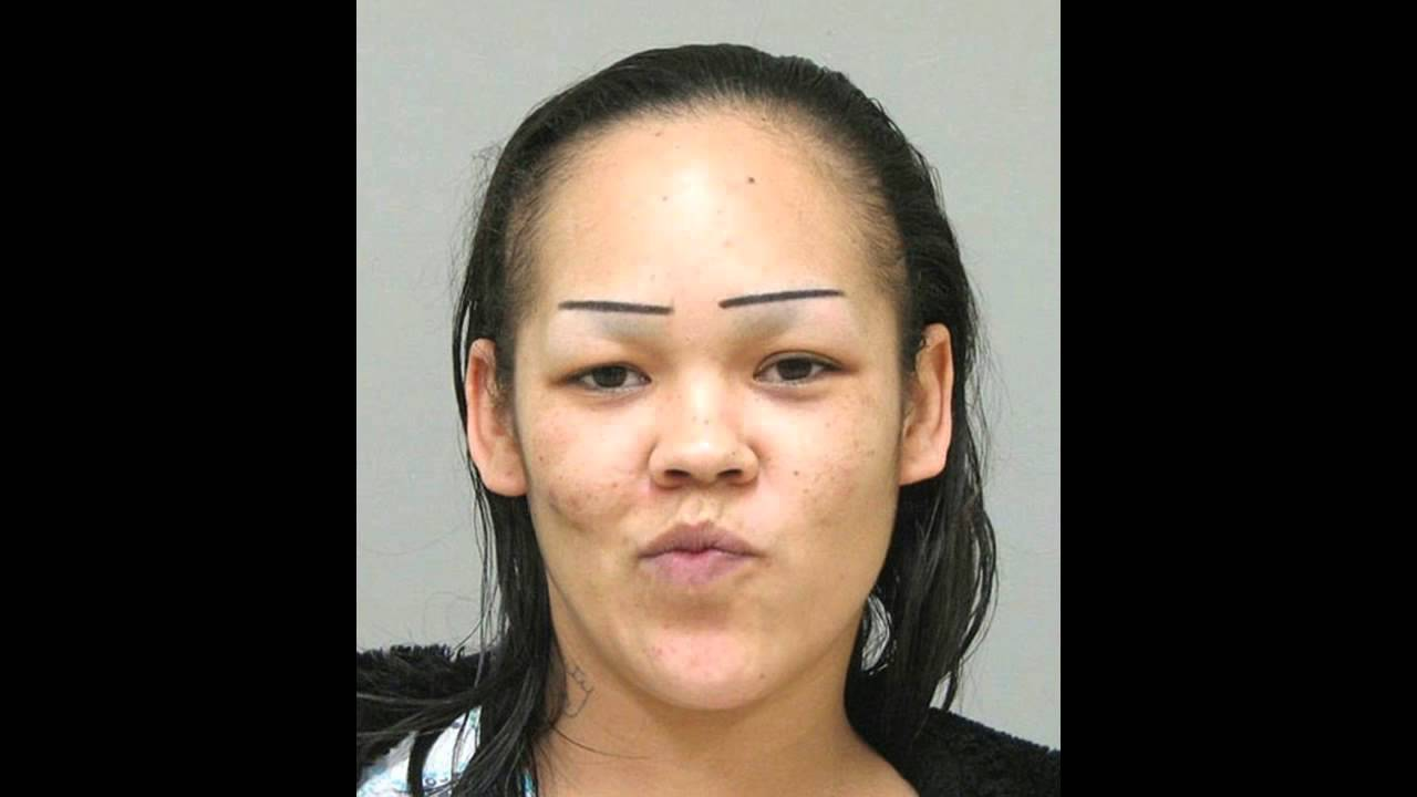Really Bad Eyebrows Youtube
