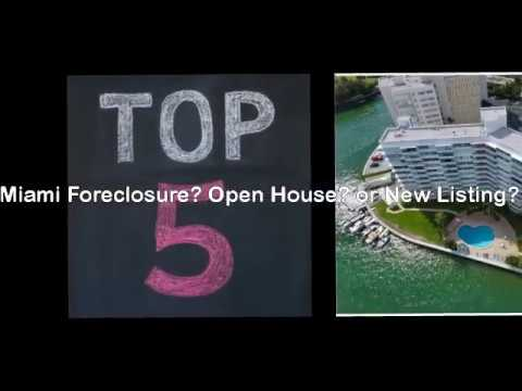 Miami Foreclosure? Open House? or New Listing?