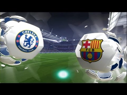 FIFA 14: Chelsea Barcelona (HD Full Online Gameplay)