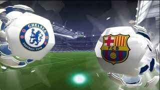 FIFA 14: Chelsea vs Barcelona (HD Full Online Gameplay)