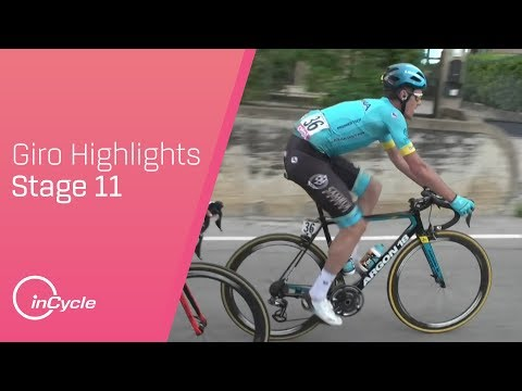 Giro d\'Italia 2018 | Stage 11 Highlights | inCycle