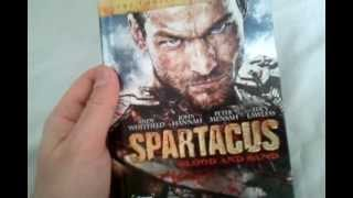 Spartacus: Blood and Sand - The Complete First Season - Blu Ray Review and Unboxing