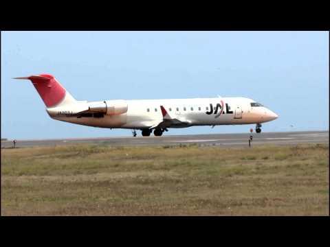 新潟(KIJ) - 千歳(CTS) 日本航空(J-AIR) CRJ200