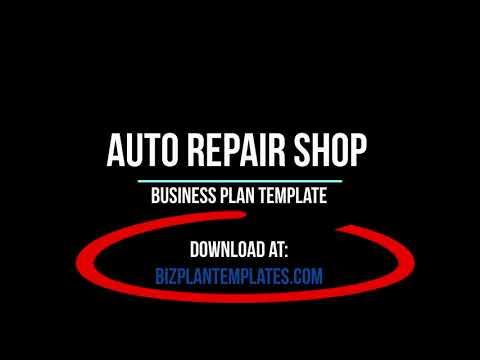Auto repair shop business plan – Pages
