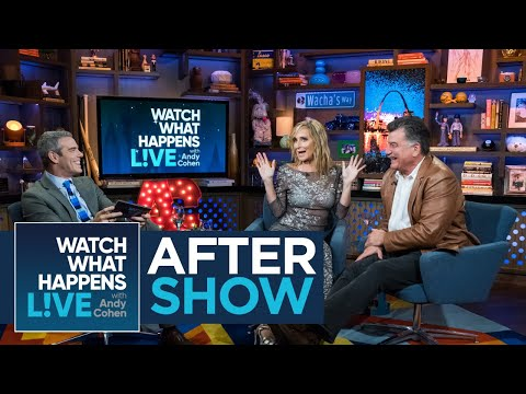 After Show: Keith Hernandez And Sonja Morgan Flirt | RHONY | WWHL