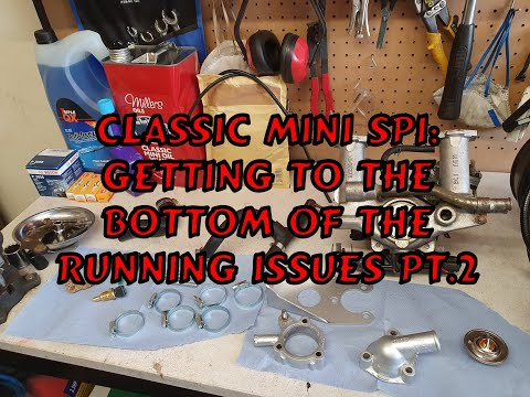 Classic Mini SPI: Getting To The Bottom Of The Running Issues Part 2