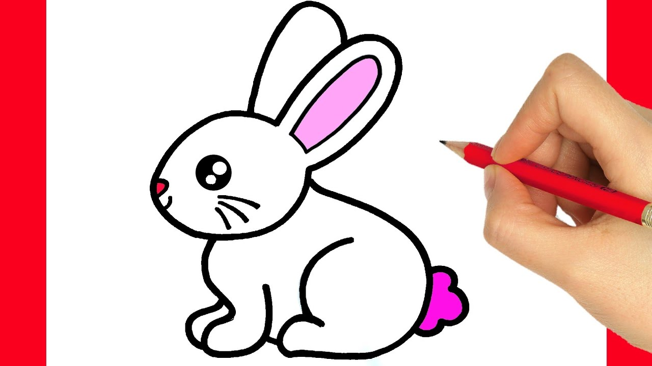 Download How to draw a cute bunny easy - how to draw a easter bunny step by step