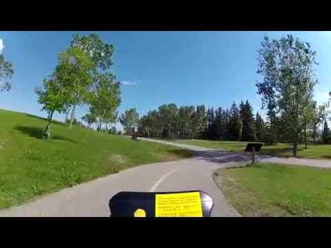 Calgary by Viper #4: Coming Down Nose Hill (09/07/13)