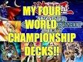 Yu-Gi-Oh Duel Links 4 Decks for the World Championship