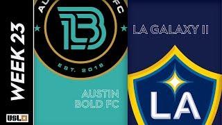 Austin Bold FC vs. LA Galaxy II: August 10th, 2019