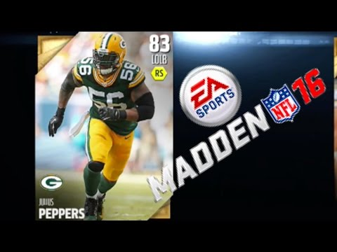 Madden 16 - Julius Peppers Is  A Bum & Slow As F*ck! Madden 16 Draft Champions Gameplay Ep. 39
