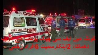Bomb Blast at Quetta FC Check Post 2 January 2018