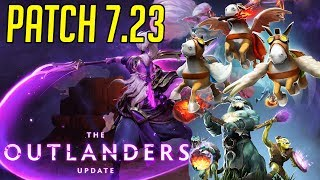 Dota 2 Outlanders Out! Gorgc Reviews Patch 7.23 - New Heroes and Items
