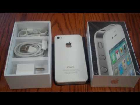 White iPhone 4 Official Unboxing