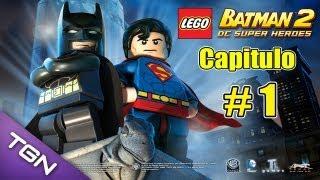 Lego Batman 2 DC Super Heroes  - Capitulo 1 - HD 720p