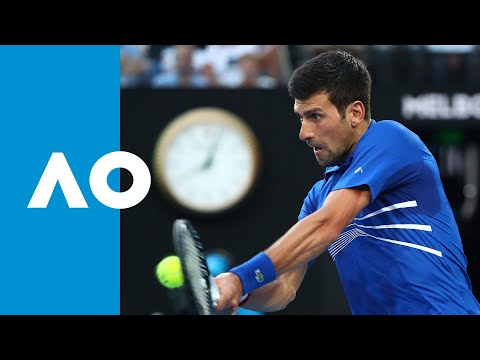 Novak Djokovic v Kei Nishikori first set highlights (QF) | Australian Open 2019