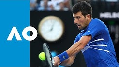 Novak Djokovic v Kei Nishikori first set highlights (QF) | Australian Open 2019