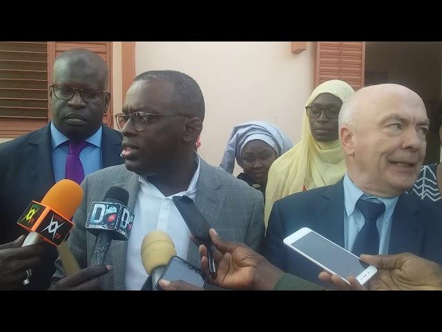Visite des parlementaires français à Dakar