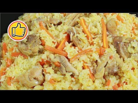 Как готовить плов с курицей на сковороде пошаговый рецепт