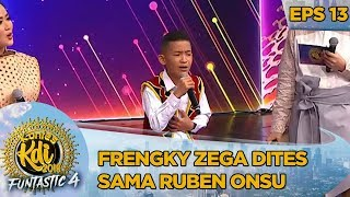 Download Mp3 Frengky Zega Dites Sama Ruben Onsu  Titip Rindu Buat Ayah  - Kontes Kdi Eps 13