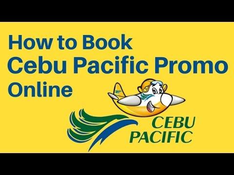 HOW TO BOOK A FLIGHT IN CEBU PACIFIC (PROMO & PISO FARE) 2017