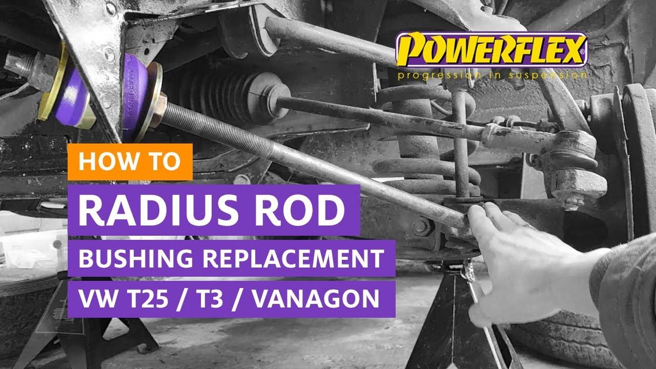 VW T3 / T25 / Vanagon - Radius Rod Bush Replacement