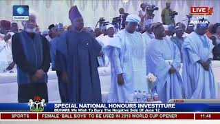 25 Years After, Buhari Honours Late MKO Abiola With Posthumous GCFR Nat'l Award Pt.3