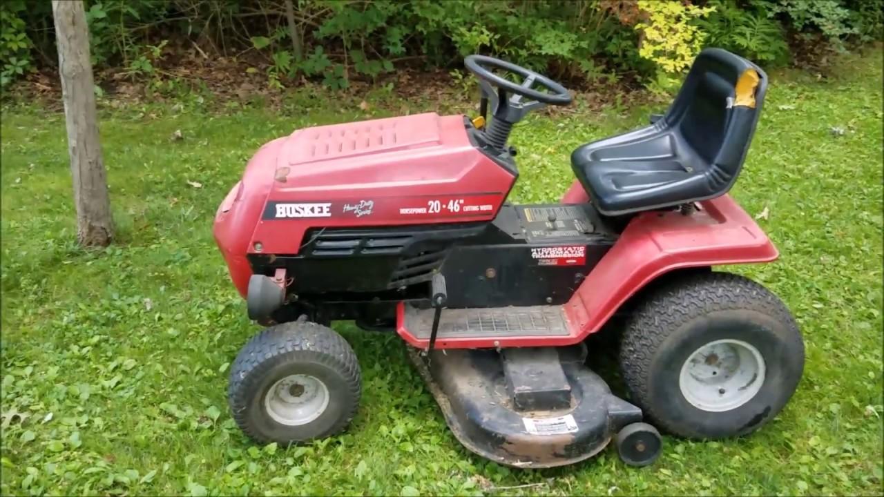 Huskee Yard Man Heavy Duty Series Lawn Tractor