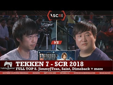 Tekken 7 World Tour: SCR 2018 full Top 8 (JimmyJTran, Saint, Dimeback, Speedkicks + more)