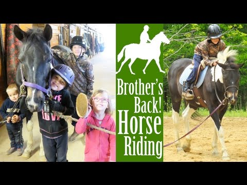 Brother's Back to Horse Riding!