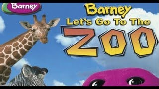 Barney - Let ' s Go To The Zoo