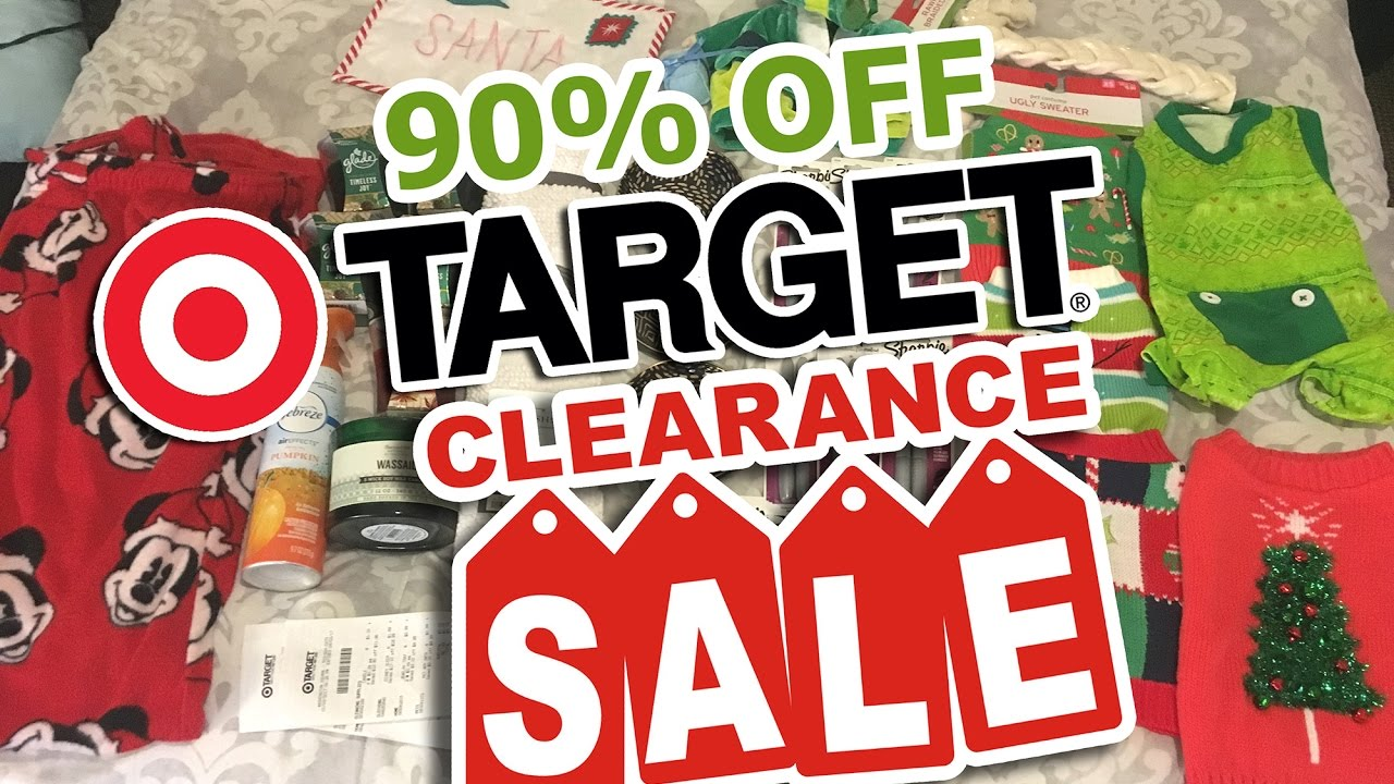 target after christmas 90 clearance haul 2016 - Target Christmas Clearance Schedule