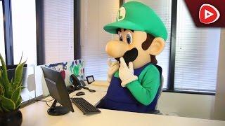 Luigi ist für die Nintendo 2DS Fabrik verantwortlich