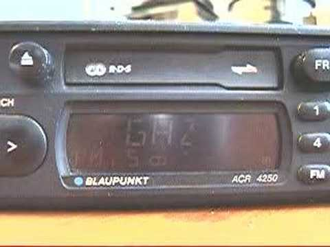 RDS broadcasting on 107,9 MHz, Minsk, Belarus