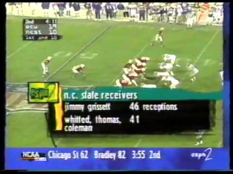 1996 East Carolina vs NC State (the Scott Harley Show)
