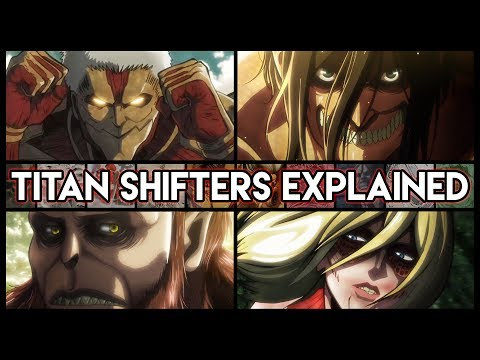The Great Titan War And The 9 Titan Shifters Explained - Attack On Titan | Shingeki no Kyojin