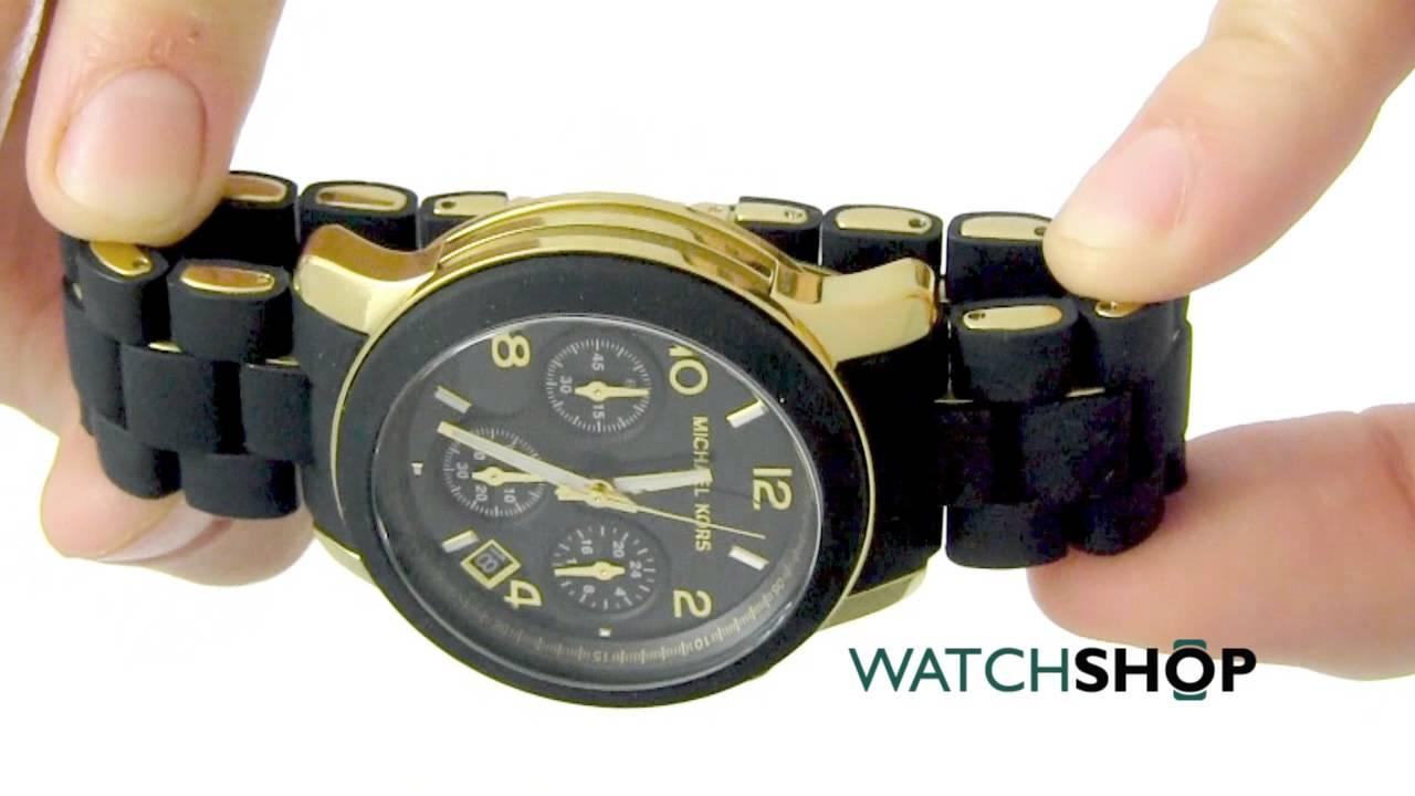 c8d1307fb266 Michael Kors Ladies  Runway Chronograph Watch (MK5191) - YouTube