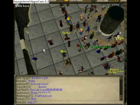 Runescape Grand Exchange Crash!