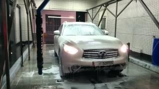 ОАЭ Совершенно бесконтактная мойка автомобиля
