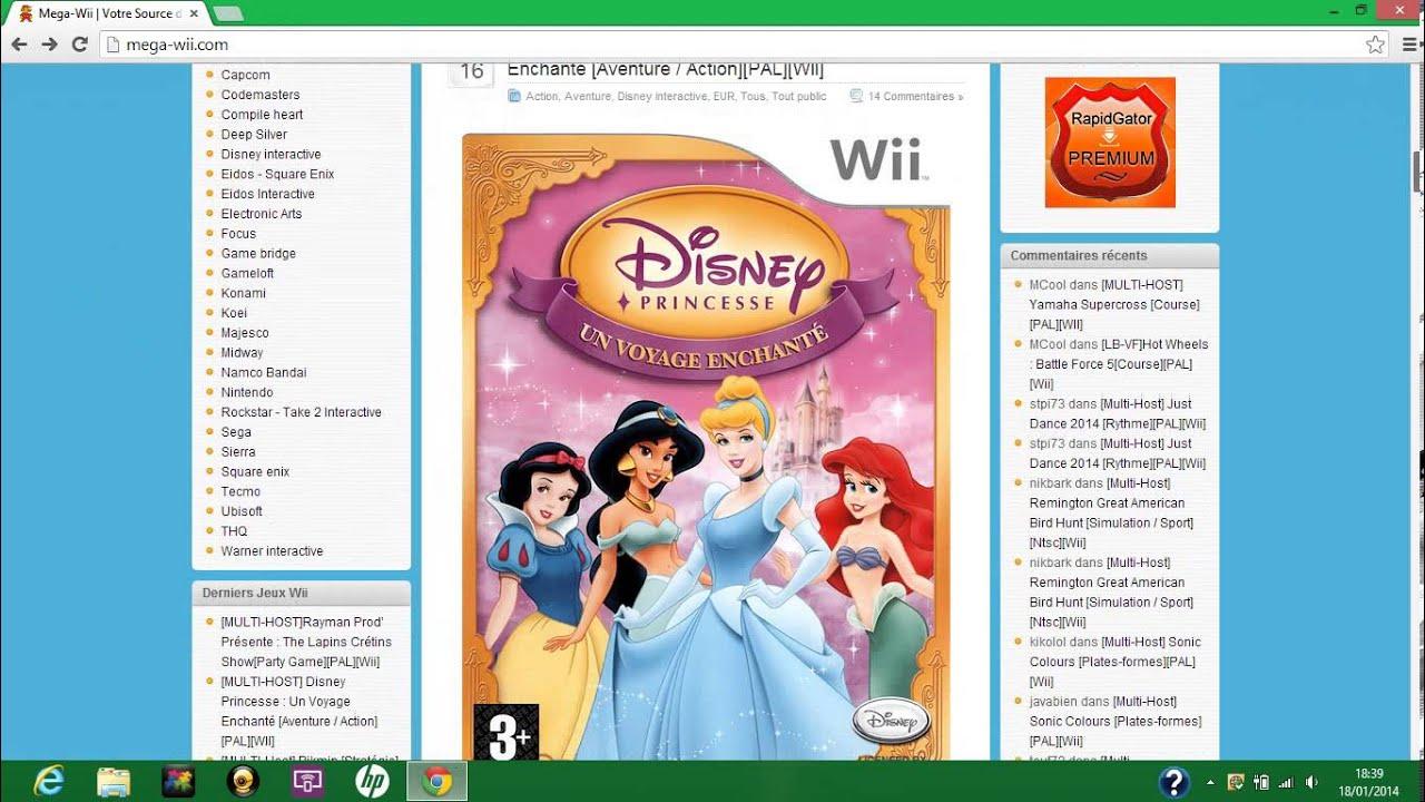 Tuto comment t l charger des jeux de wii gratuitement - Jeux de cuisine a telecharger gratuit ...