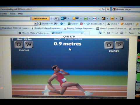 How to actually run in QWOP