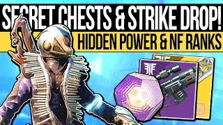 Destiny 2 | HIDDEN CHESTS & NEW STRIKE WEAPON! Extra Powerful Drop, Dreaming City Changes & New Loot