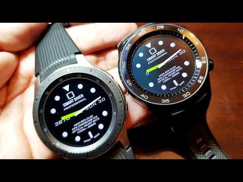 Galaxy Watch Vs Huawei Watch 2. Hardware, WATER, CHARGING time, Software.